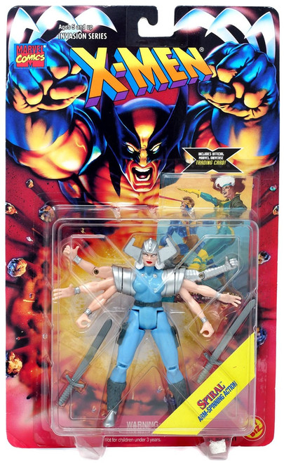Marvel X-Men Invasion Series Spiral Action Figure [Arm-Spinning Action]