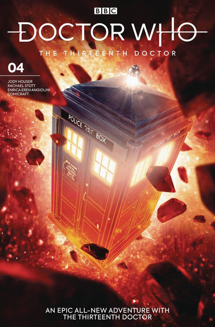 Titan Comics Doctor Who The Thirteenth Doctor #4 Comic Book [Will Brooks Cover B]