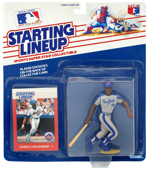 MLB Starting Lineup Darryl Strawberry Action Figure