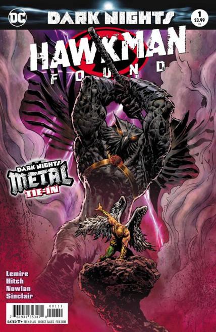 DC Dark Nights Metal: Hawkman Found #1 Comic Book [Liam Sharp Foil-Stamped Cover]
