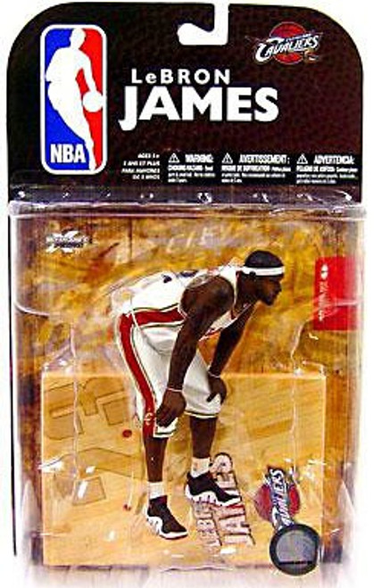 McFarlane Toys NBA Cleveland Cavaliers Sports Picks Series 16 LeBron James Action Figure [Damaged Package]