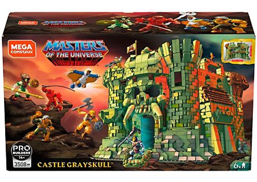 Mega Construx Masters of the Universe Castle Grayskull Set