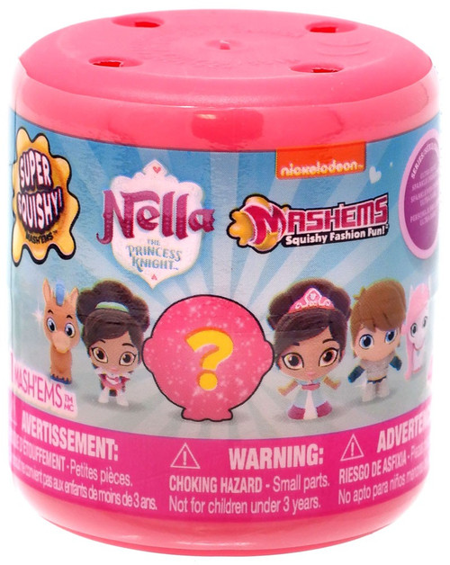 Nickelodeon Mash'Ems Series 1 Nella The Princess Knight Mystery Pack