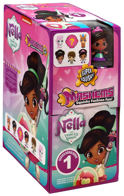 Nickelodeon Mash'Ems Series 1 Nella The Princess Knight Mystery Box [23 Packs]