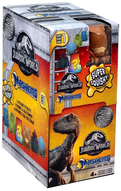 Mash'Ems Series 1 Jurassic World Mystery Box [23 Packs]