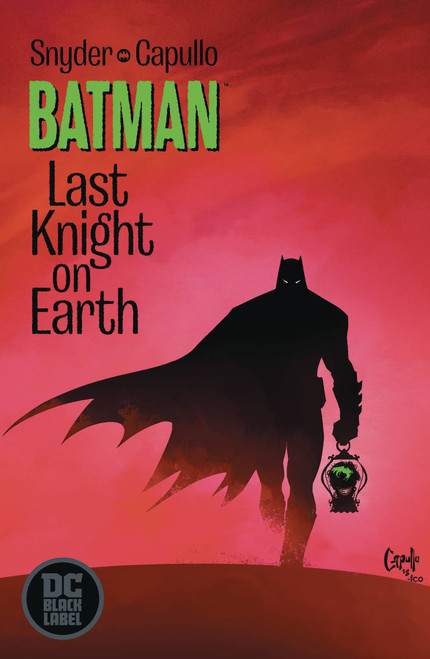 DC Black Label Batman Last Knight on Earth #1 Comic Book