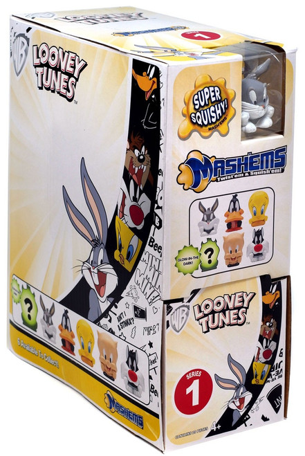 Mash'Ems Series 1 Looney Tunes Mystery Box [20 Packs]