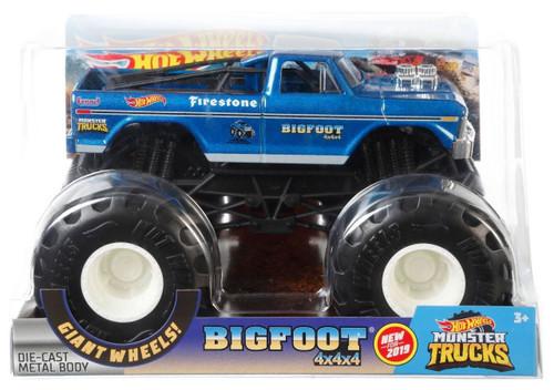 Hot Wheels Monster Trucks Bigfoot 4x4x4 Diecast Car
