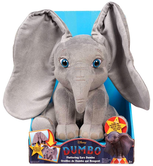 Disney Fluttering Ears Dumbo 13-Inch Plush with Sound