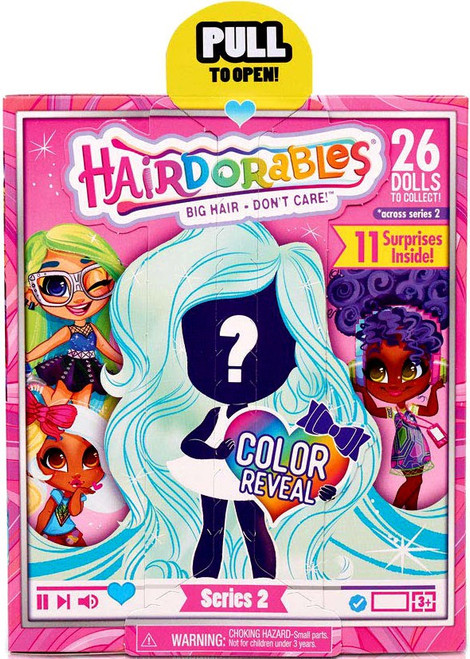 Hairdorables Series 2 Doll Mystery Pack [11 Surprises Inside!]