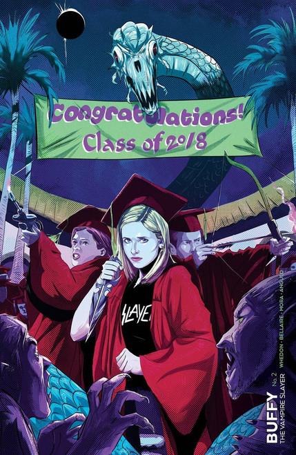 Boom Studios Buffy The Vampire Slayer #2 Comic Book [Ryan Inzana Variant Cover]