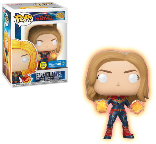 Funko POP! Marvel Captain Marvel Exclusive Vinyl Figure #432