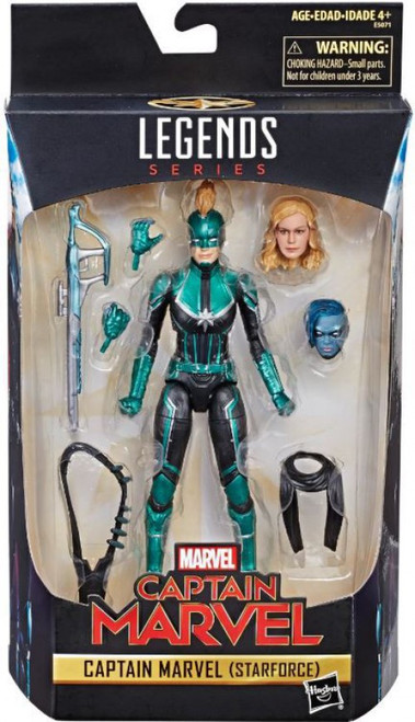 Marvel Legends Captain Marvel (Starforce) Exclusive Action Figure