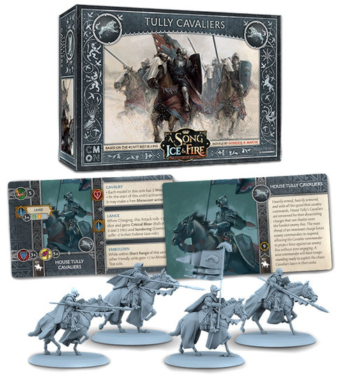 A Song of Ice & Fire Stark Tully Unit Box Tabletop Miniatures Game