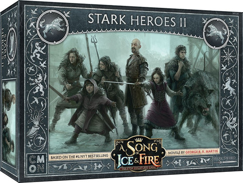 A Song of Ice & Fire Stark Heroes #2 Tabletop Miniatures Game