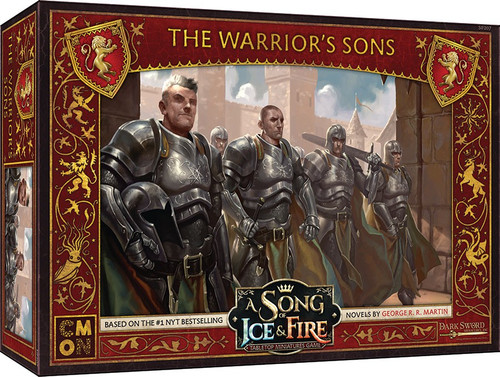 A Song of Ice & Fire Lannister Warrior's Sons Unit Box Tabletop Miniatures Game