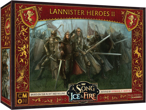 A Song of Ice & Fire Lannister Heroes #2 Tabletop Miniatures Game
