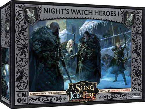 A Song of Ice & Fire Night's Watch Heroes Box 1 Tabletop Miniatures Game