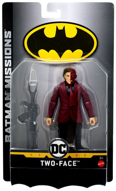 DC Batman Missions Two-Face Action Figure