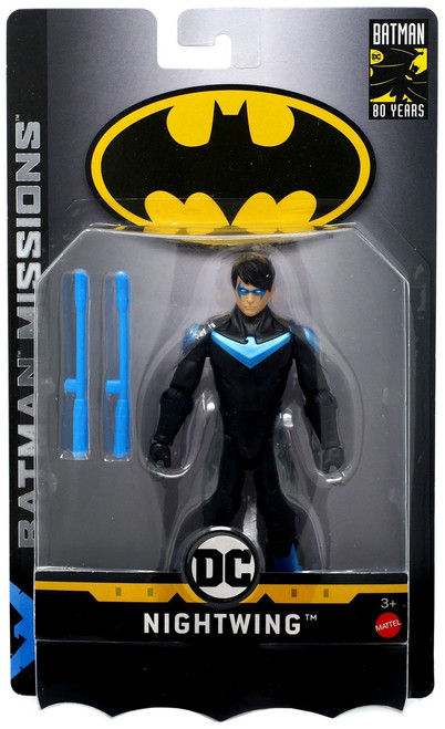 DC Batman Missions Nightwing Action Figure