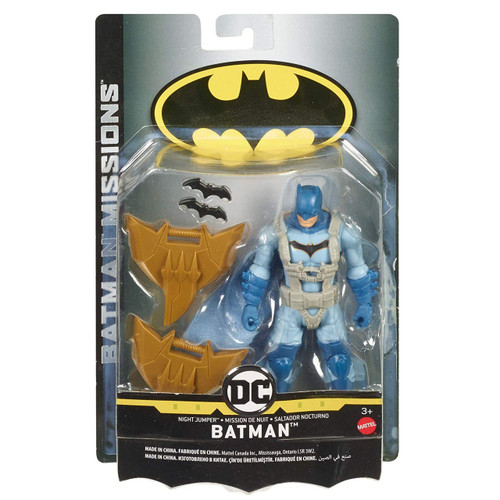 DC Batman Missions Night Jumper Batman Action Figure