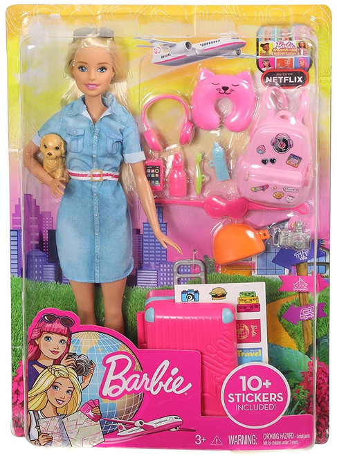 Dreamhouse Adventures Barbie Travel Doll