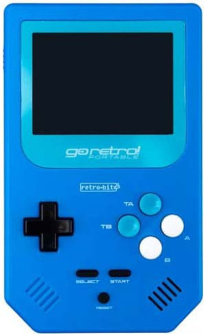 Retro Bit Go Retro! Portable Gaming Device [Blue]