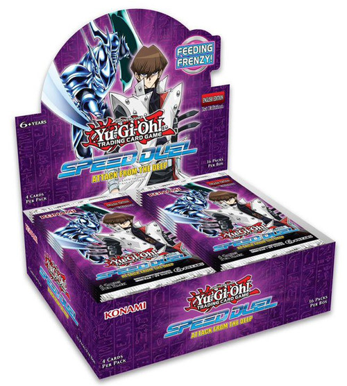 YuGiOh Trading Card Game Speed Duel Attack from the Deep Booster Box [36 Packs]