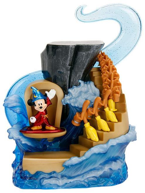 Disney Mickey the True Original Nano Metalfigs The Sorcerer's Apprentice Figure Set