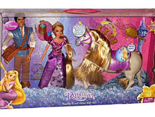 Disney Tangled Happily Ever After Gift Set Doll 3-Pack