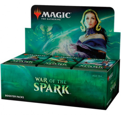MtG Trading Card Game War of the Spark Booster Box [36 Packs]