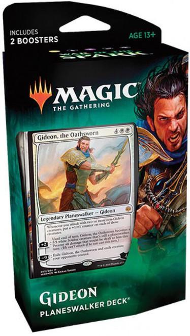 MtG Trading Card Game War of the Spark Gideon Planeswalker Deck
