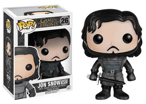 Funko Game of Thrones POP! TV Jon Snow Vinyl Figure #26 [Castle Black, Damaged Package]