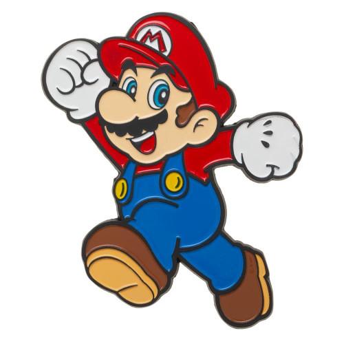 Super Mario Mario 3-Inch Large Enamel Lapel Pin