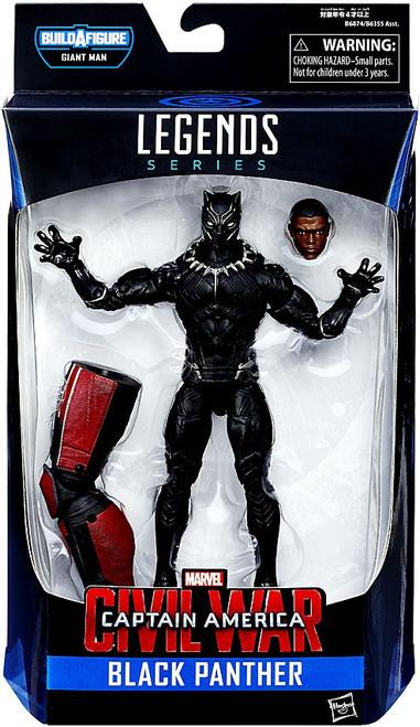 Captain America Civil War Marvel Legends Giant Man Series Black Panther Action Figure [Damaged Package]