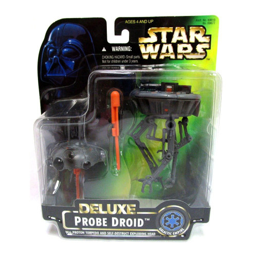 Star Wars The Empire Strikes Back Power of the Force POTF2 Deluxe Deluxe Probe Droid Action Figure