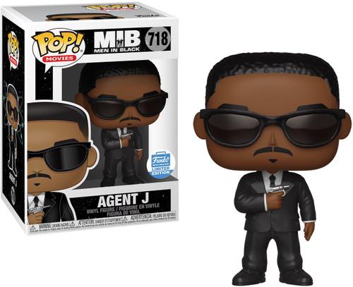Funko Men In Black POP! Movies Agent J Exclusive Vinyl Figure #718 [Holding Gun]