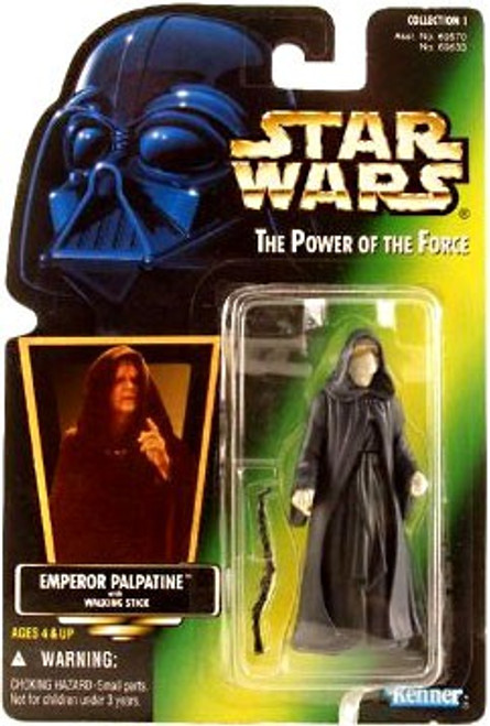 Star Wars Return of the Jedi Power of the Force POTF2 Collection 1 Emperor Palpatine Action Figure