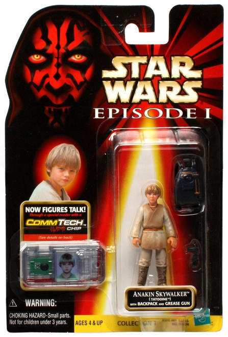 Star Wars Phantom Menace 1999 Episode I Basic Anakin Skywalker Action Figure