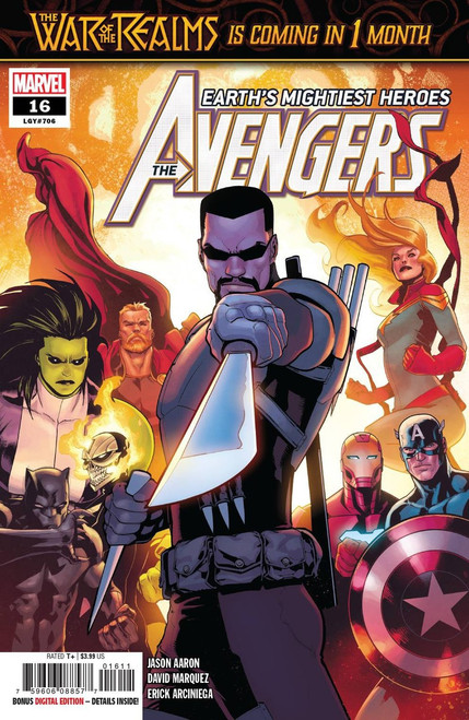 Marvel Comics Avengers #16 Comic Book