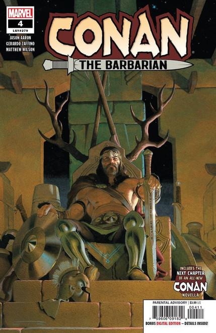 Marvel Comics Conan The Barbarian #4 Comic Book