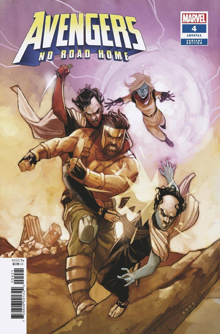 Marvel Comics Avengers: No Road Home #4 of 10 Comic Book [Noto Connecting Variant Cover]
