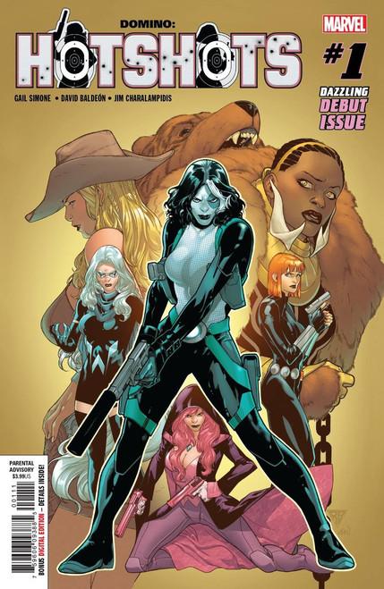 Marvel Comics Domino Hot Shots #1 Comic Book
