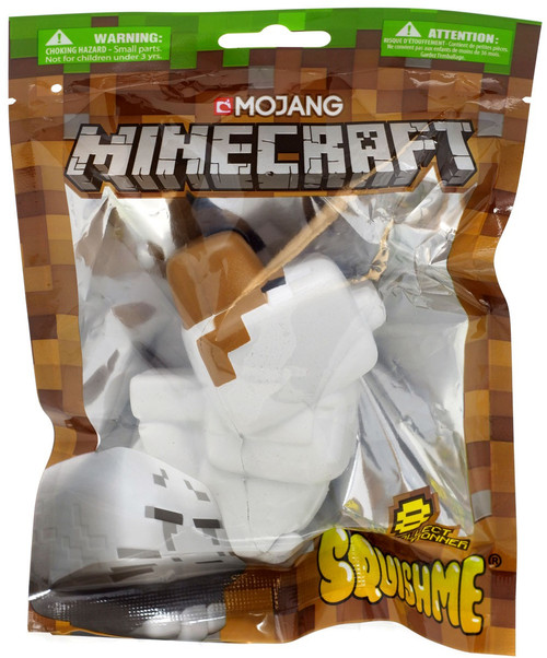 Minecraft Squishme Wolf Squeeze Toy