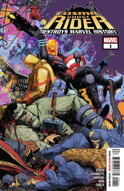 Marvel Comics Cosmic Ghost Rider Destroys Marvel History #1 Comic Book