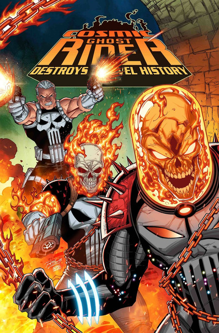 Marvel Comics Cosmic Ghost Rider Destroys Marvel History #1 Comic Book [Ron Lim Variant Cover]