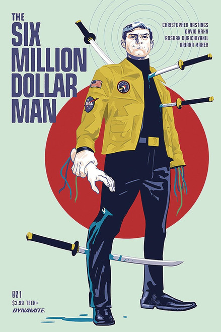Dynamite Entertainment Six Million Dollar Man #1 Comic Book