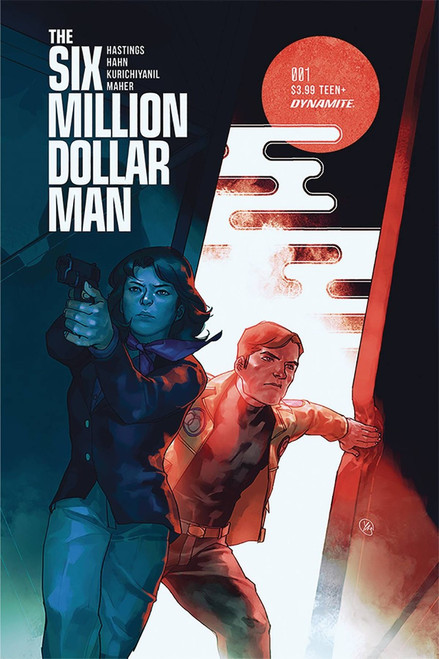 Dynamite Entertainment Six Million Dollar Man #1 Comic Book [Putri Cover B]