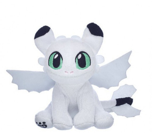 How to Train Your Dragon The Hidden World Nightlight Exclusive Plush [White, Green Eyes]
