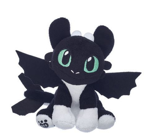 How to Train Your Dragon The Hidden World Nightlight Exclusive Plush [Black & White, Green Eyes]